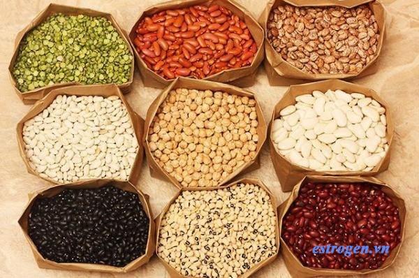 Các loại hạt họ đậu là thực phẩm nổi tiếng giúp bổ sung estrogen 1
