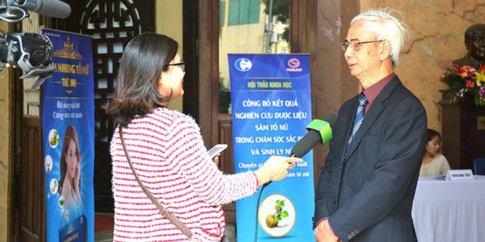 Dự án nghiên cứu về Sâm Tố nữ tại Việt Nam 1
